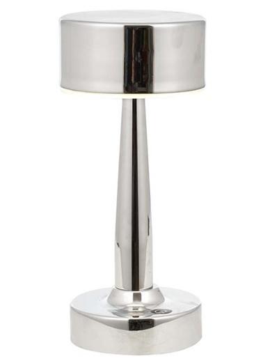 Avonni  ML-64005-K Krom Kaplama Masa Lambası LED Metal Pleksi 11cm Renkli